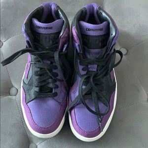 Converse CONS Weapon Mid Reflective. Imperial purp